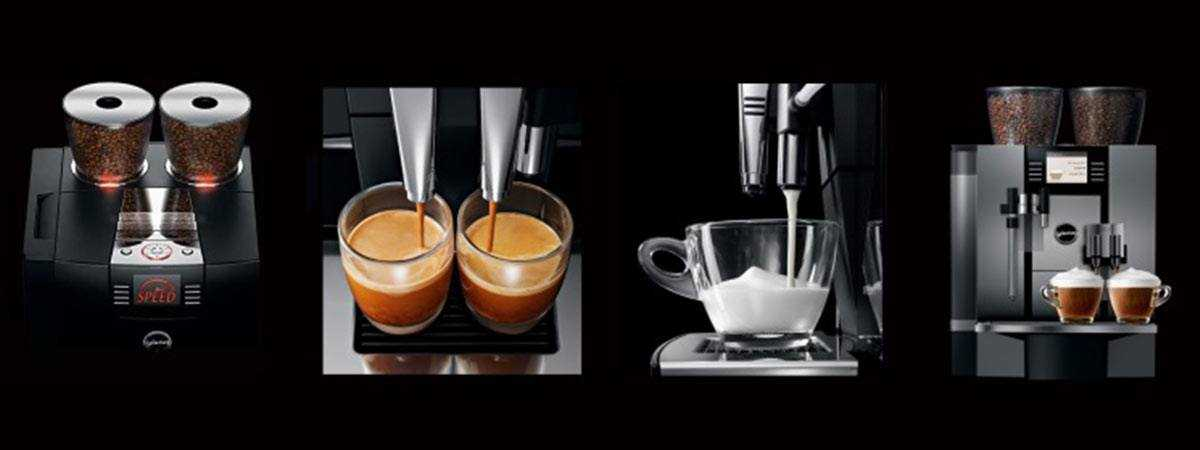 Jura coffee machine comparison