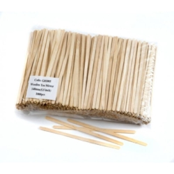 "5.5"" Wooden Stirrers"