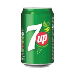 7UP 330ml Cans Case 24