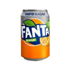 Fanta Orange Zero 330ml Cans