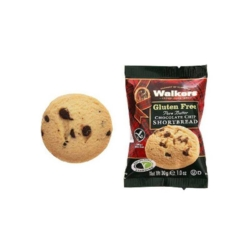Walkers Gluten Free Choc Chip Shortbread