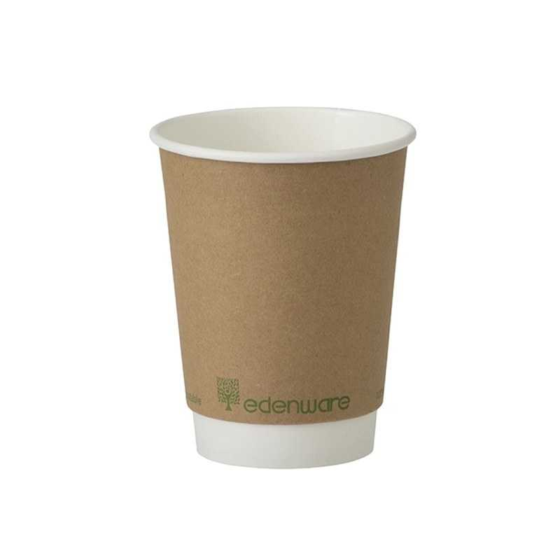 100% BIODEGRADABLE COFFEE CUPS MADE FROM COFFEE GROUNDS