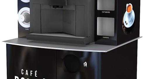 compact pod stainless steel worktop
