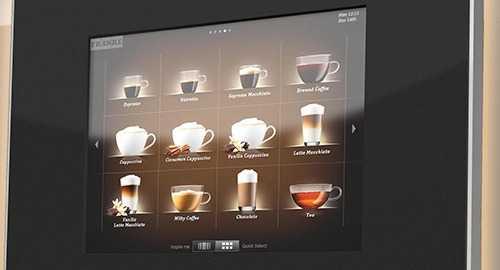 franke touch screen