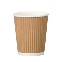 Kraft Triple Walled Cups 8oz