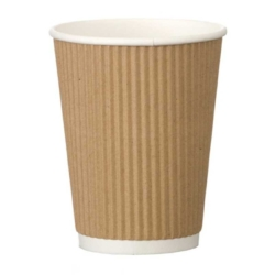 Kraft Triple Walled Cups 12oz