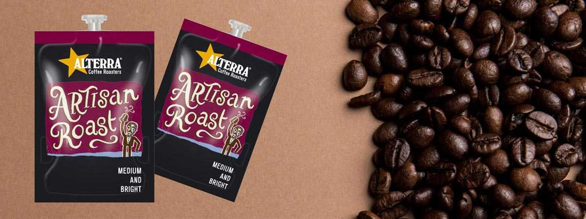 artisna roast with coffee beans