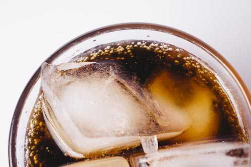 carbonated iced coffee