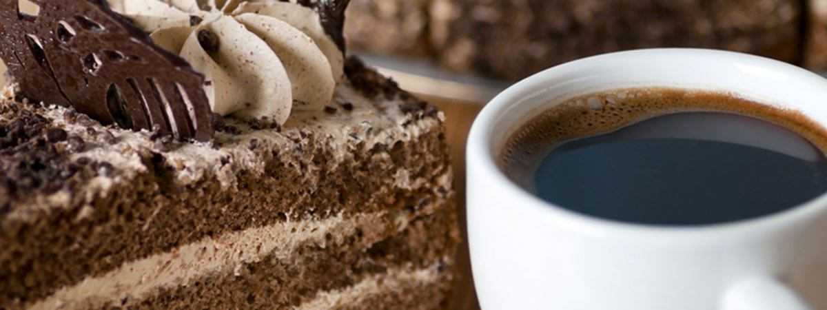 coffee and cake together