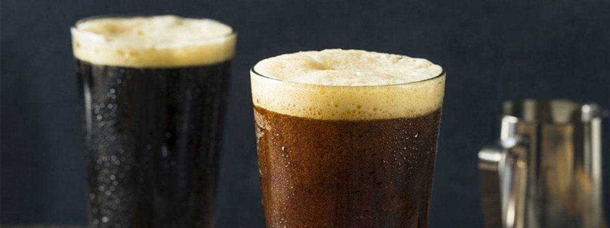 Nitro cold brew coffees