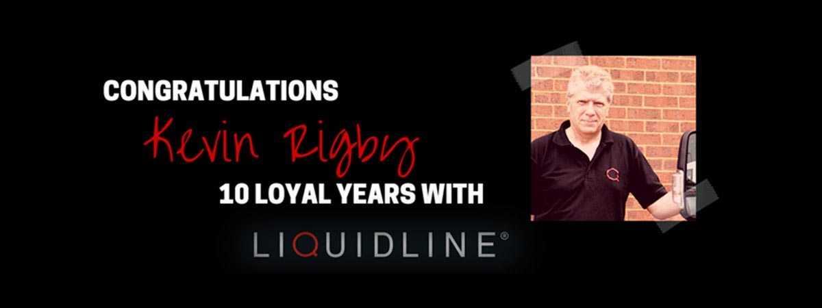 Congratulations Kevin Rigby