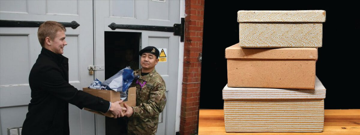 left-man-giving-box-to-solider-right-close-up-of-3-stacked-boxes