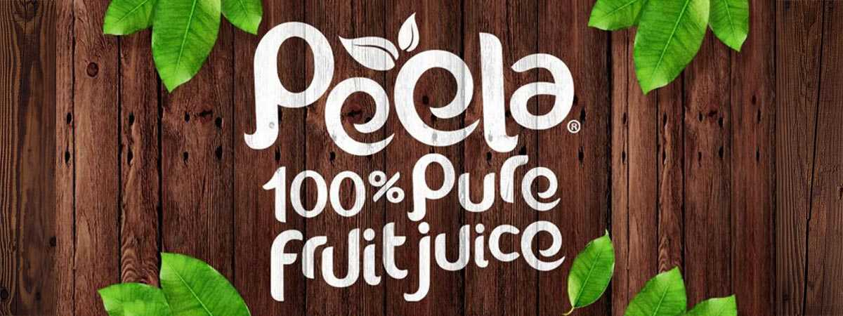 peela one hundred percent fruit juice