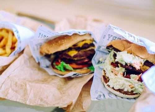 takeaway burger