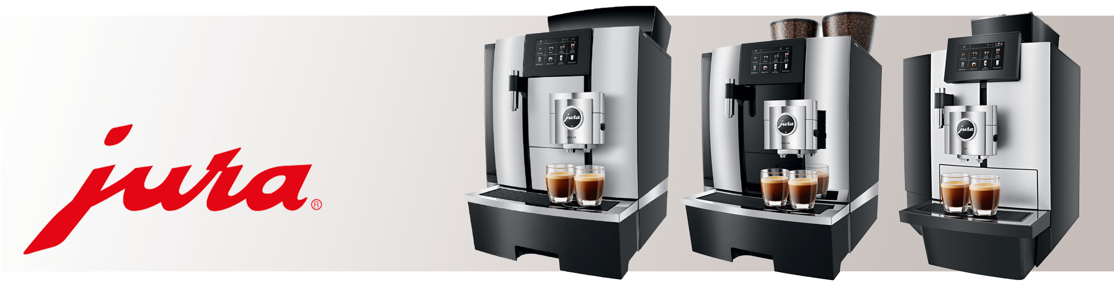 Jura bean to cup coffee machines