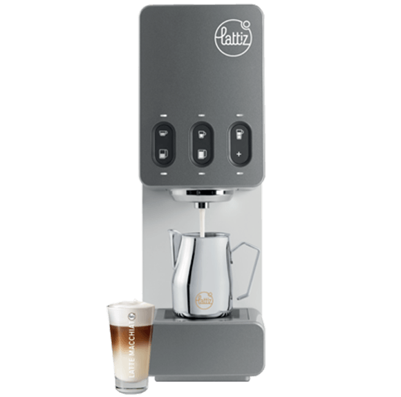 Lattiz milk machine in use