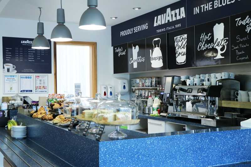 Lavazza branded cafe at University of Essex