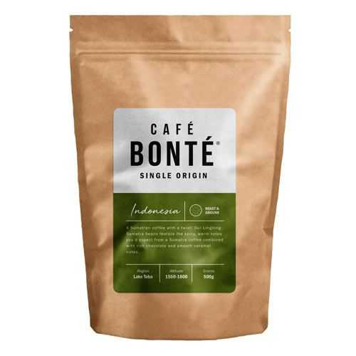 Cafe bonte indonesian coffee beans