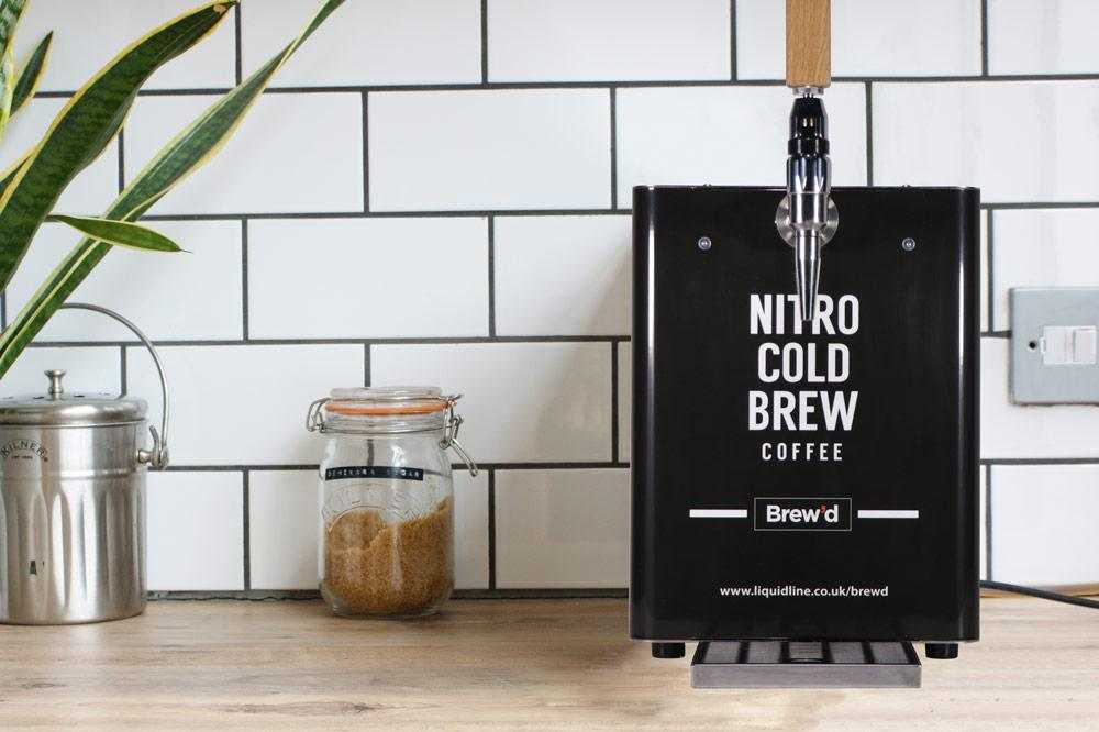 nitro cold brew coffee machine
