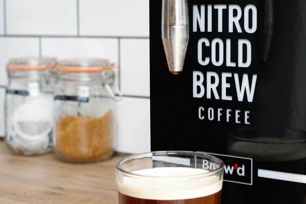 cold brew coffee machine nitro