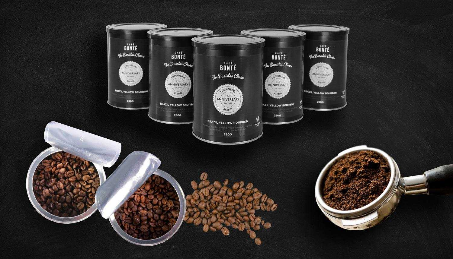 cafe bonte 15 years anniversary coffee beans
