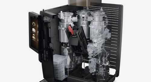 franke internal coffee system