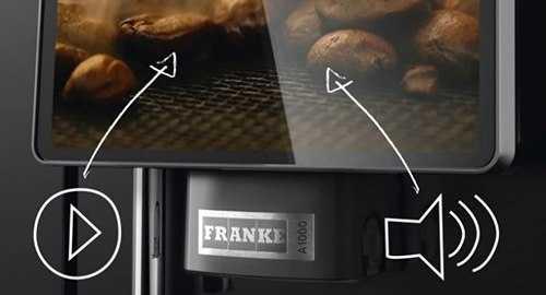 franke coffee machine touchscreen
