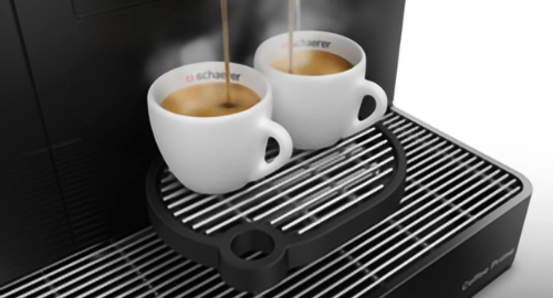 Schaerer coffee dispensing from Prime