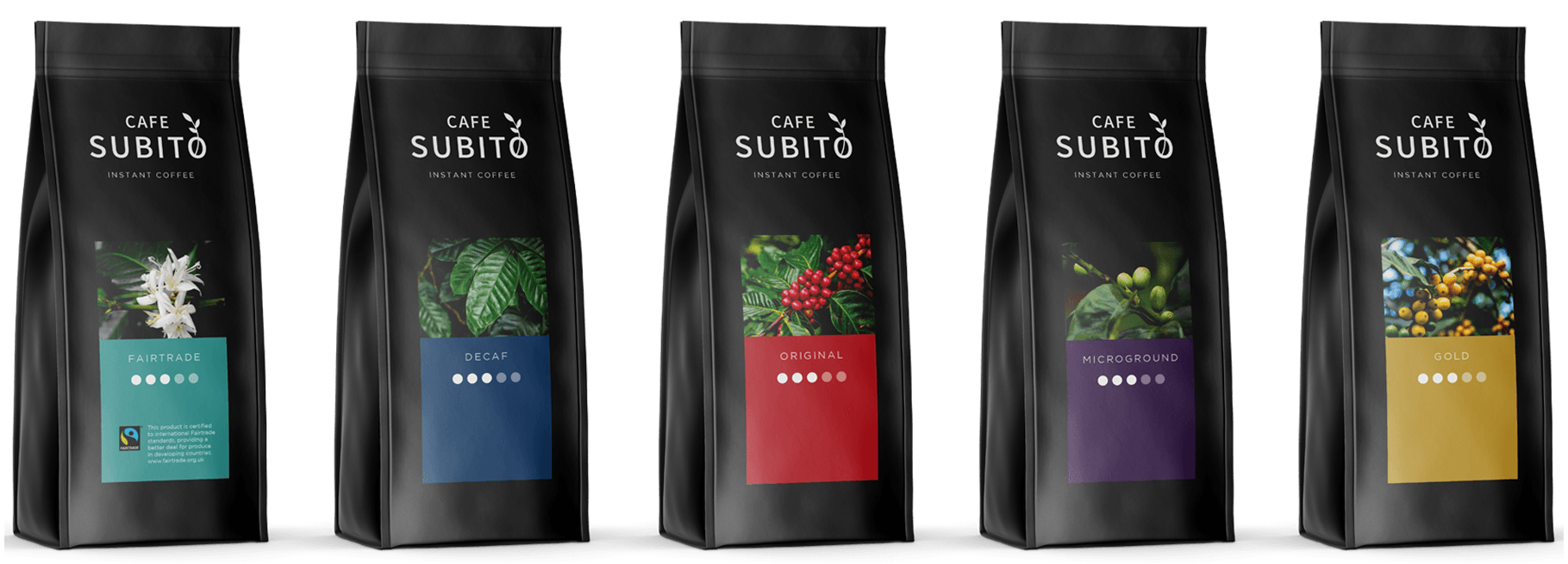 Cafe Subito Instant Coffee Bags