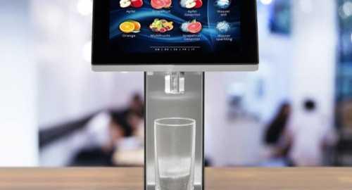 undercoutner juice dispensers