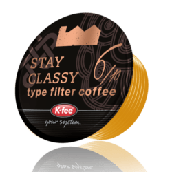 Stay Classy Filter Coffee Capsules