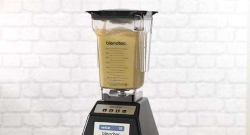 blendtec making frappe