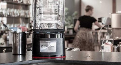 blendtec in cafe