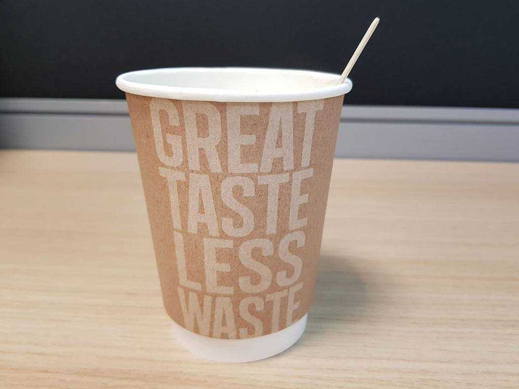 great taste less waste cup