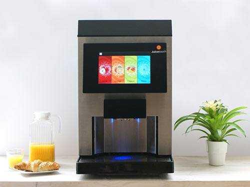 juice machine on worktop