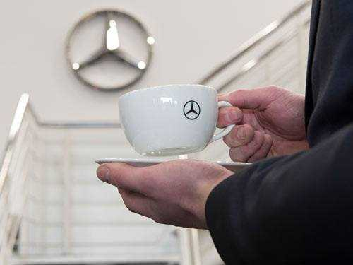 mercedes benz coffee cups