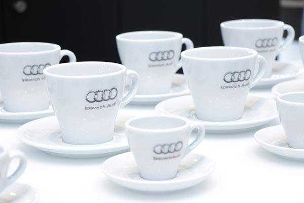 automotive branded coffee cups