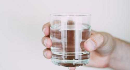 glass of water for enhanced