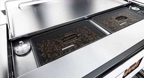 Schaerer Barista coffee machine bean hoppers