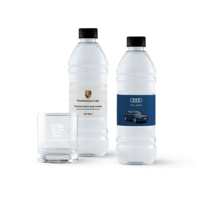 custom branded water bottles and glass