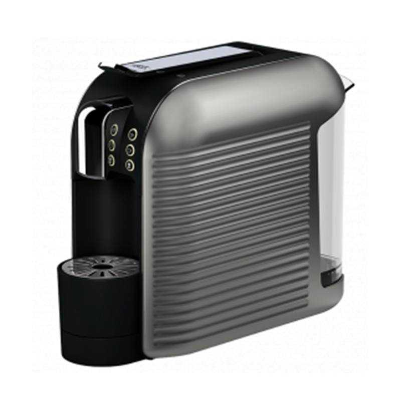 commercial capsule coffee machine side
