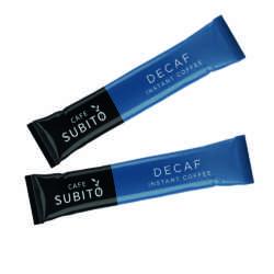 Cafe Subito Decaf Coffee Sticks