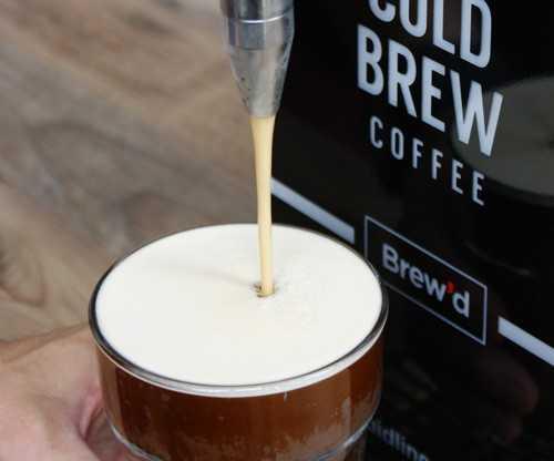 brewd nitro cold brew dispensing