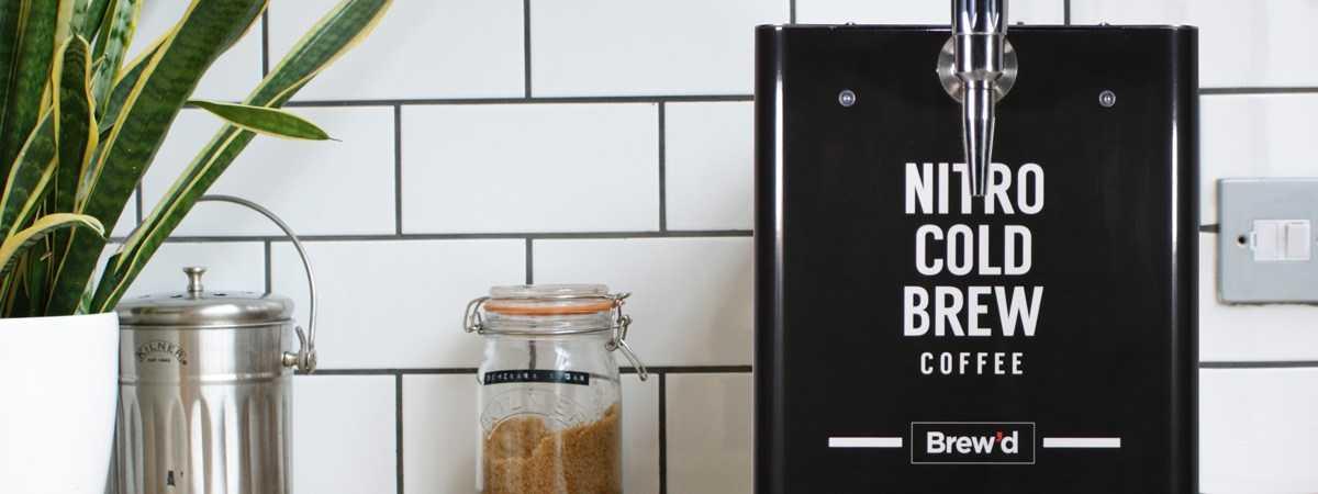 brewd nitro cold brew coffee machine