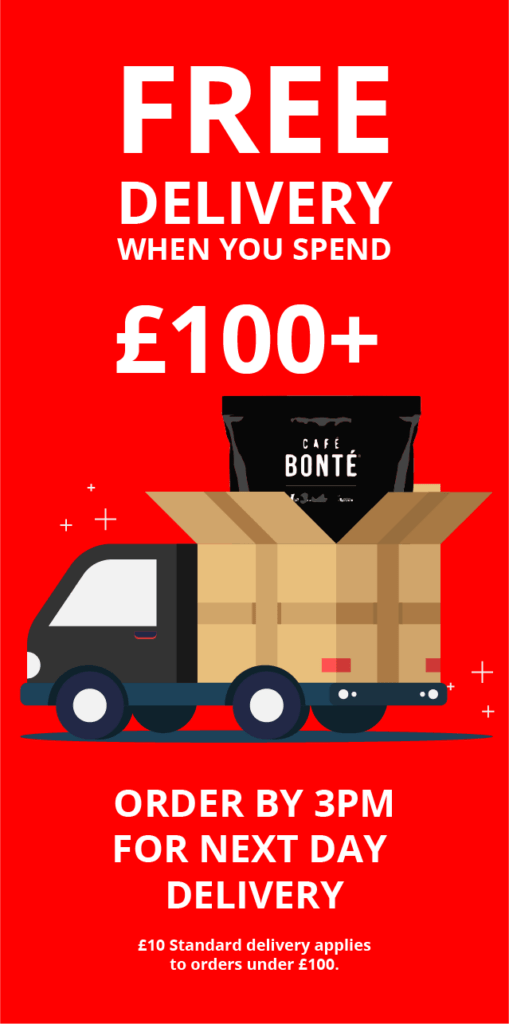 free delivery when you spend £100+ order by 3pm