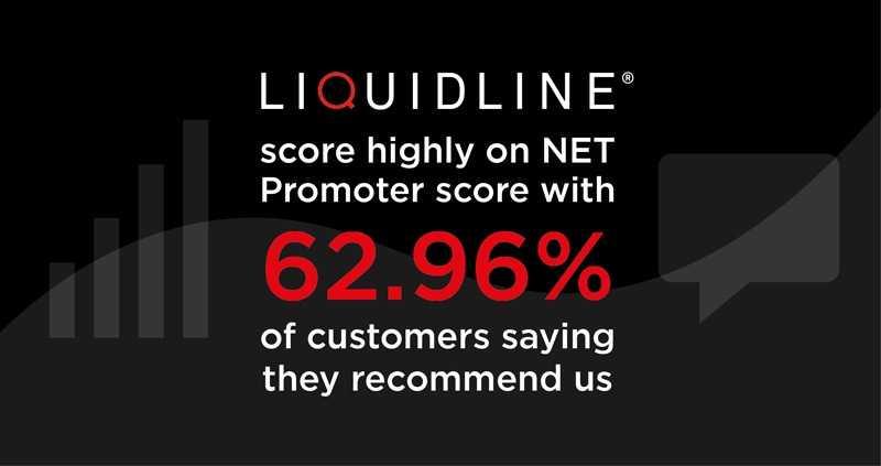Liquidline's NET promoter score