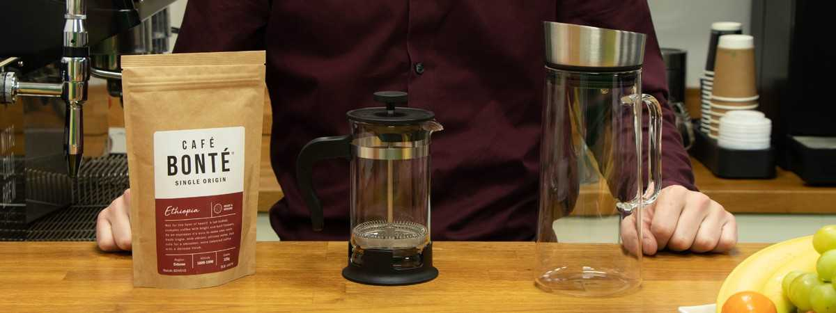 How to make the perfect coffee with a  cafetiere?