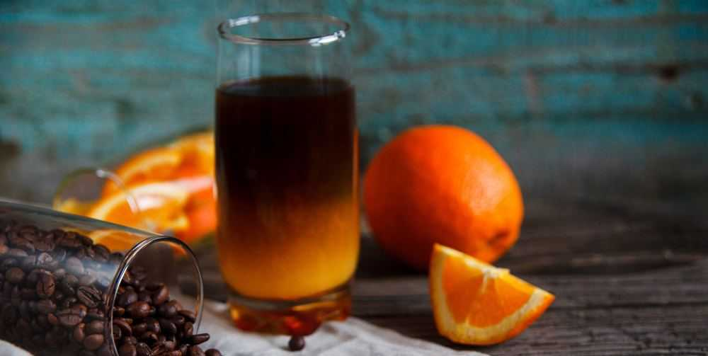 orange cinnamon drink