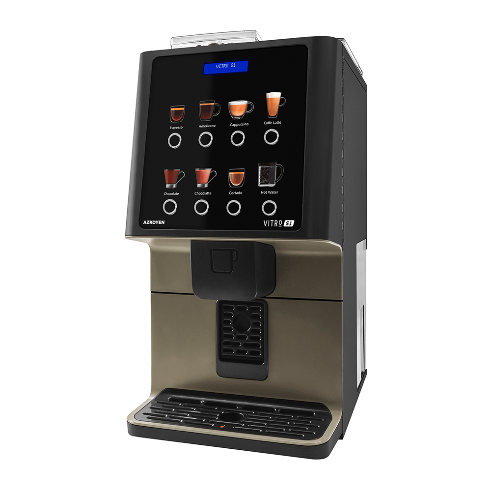 Vitro S1 Coffetek - Angled Coffee Machine Image