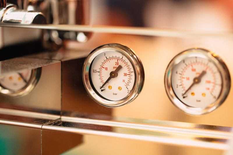 coffee machine dials